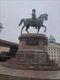 Image for Erzherzog Albrecht Denkmal auf der Albrechtsrampe (Vienna, Austria)