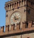 Image for Clock at the tower of Palazzo d'Accursio - Bologna - ER - Italy