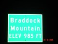 Image for Braddock Mountain, 985 ft