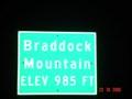 Image for Braddock Mountain, 985 ft