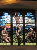Image for The Crucifixion with Soldiers - St Sannan's Church - Bedwellty, Wales, Great Britain.