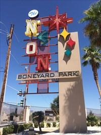 Neon Boneyard - Las Vegas, NV - Satellite Imagery Oddities