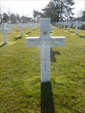 Image for Lt. Jimmie Waters Monteith Jr. - Normandy American Cemetery - Colleville-sur-Mer, France