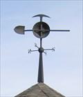 Image for Miner's Tools Weathervane, Alba Park - Medford, Oregon