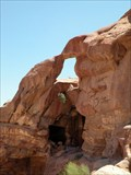 Image for Arco en Petra II, Jordania (Arch in Petra II, Jordan)