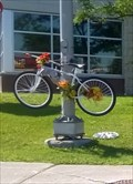 Image for Ghost Bike - Mario Theoret - Hunt Club & Merivale, Ottawa, Ontario