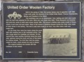 Image for United Order Woolen Factory ~ 451