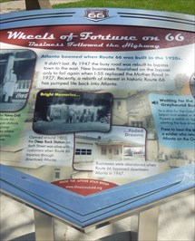 Wheels of Fortune on Route 66