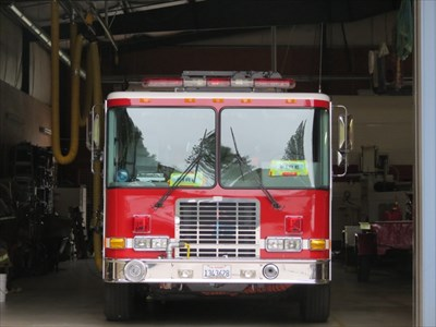 Fire Engine E2410 Grille, Felton, CA