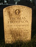 Image for Thomas Thompson - Portsmouth, NH