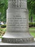 Image for World War I Monument - Augusta, Georgia