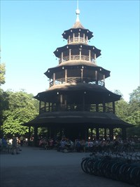 Chinese Tower, Munich, Germany