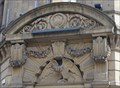Image for Eagle and Coat of Arms on De Vere House - Bradford, UK