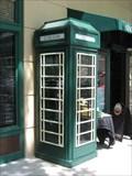 Image for Red (Green) Telephone Box - Celebration, FL
