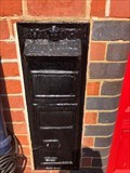 Image for Victorian Wall Post Box - Wareham Station, Wareham, Dorset, UK