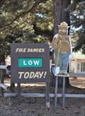 Image for Smokey Bear in Pine Valley, Utah