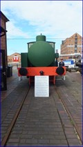 Image for Fireless Locomotive - Gloucester Docks, Gloucester, UK