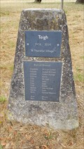 Image for 'Thankful Village' Roll of Honour - Teigh, Rutland