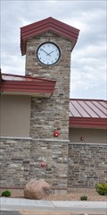 Image for Welcome Center Clock ~ Duchesne, Utah