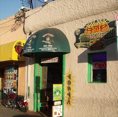Seth 39 s chop shop san diego ca tattoo shops parlors on for Tattoo shops salem nh