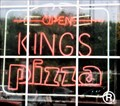 Image for King's Pizza Neon Sign  -  Hazard, KY