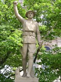 Image for Spirit of the Doughboy - Zanesville, Ohio