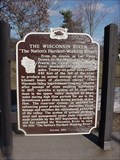 Image for Wisconsin River Historical Marker