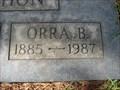 Image for 102 - Orra B Bohon - Mission City Memorial Park - Santa Clara, CA