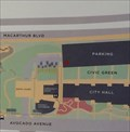Image for Civic Center Map (North Parking Garage) - Newport Beach, CA
