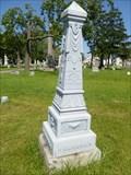 Image for ZINC - Prossner Family Monument - Tonawanda, NY