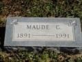 Image for 100 - Maude Wells -  Waukomis, OK