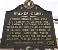Image for Walker Daniel, Danville, Boyle County, Kentucky
