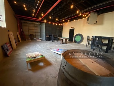 Ravenous Brewing Co. has separate brewing and tasting areas, a cold room for storing kegs, and a private function room that features a second bar plus a game area.