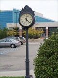 Image for Courtyard post Clock - 19th District Court - Dearborn, Michigan