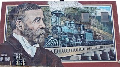 Railway Mural