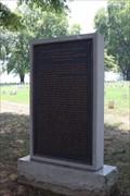 Image for Gettysburg Address -- Chattanooga National Cemetery