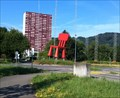 Image for Chair in a Traffic Circle - Spreitenbach, AG, Switzerland