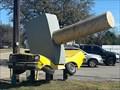 Image for Giant Hammer Crushes Car - Houston, TX