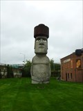 Image for Easter Island Head at TimeExpo Museum - Waterbury, CT