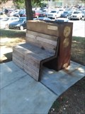 Image for Bench With Planter Box - Razorback Greenway - Fayetteville AR