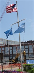 Image for Maxwell Place Nautical Flag Pole-  Hoboken, NJ