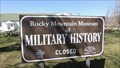 Image for Rocky Mountain Museum of Military History - Fort Missoula, MT