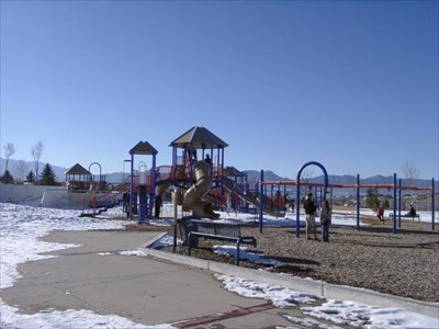 Cottonwood Creek Park Colorado Springs Co Usa Public Playgrounds On