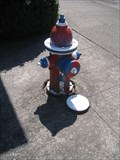 Image for Patriotic Fire Hydrant - Jefferson, Oregon