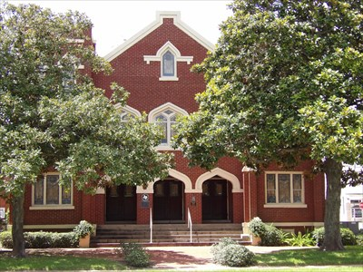 106 - St  John's United Methodist Church - Richmond, TX - Historic