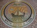 Image for Bute Dock Mosaic - Pierhead Building, Cardiff Bay, Wales.