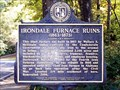Image for Irondale Furnace Ruins (1863-1873) - Mountain Brook, AL