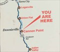 Image for Hwy 49 - All Roads Lead To Downieville sign - California