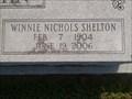 Image for 102 - Winnie Nichols Shelton - Pea Ridge, AR USA