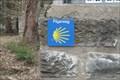 Image for Jakobsweg Way Marker - Eremitage, NRW, Germany